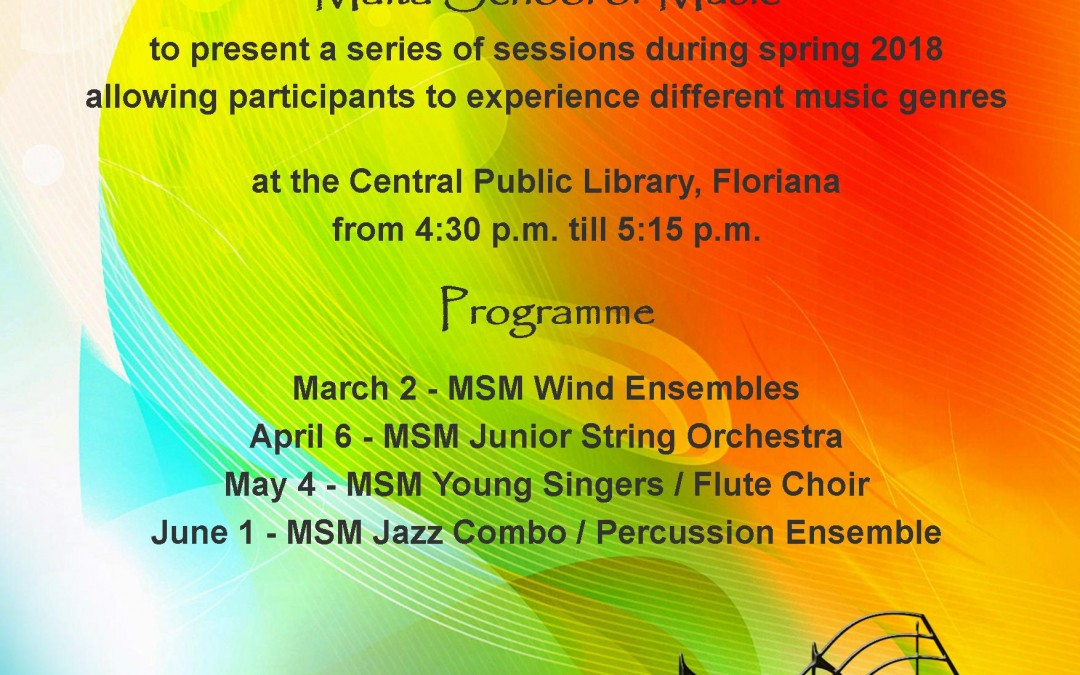 A series of musical sessions during Spring 2018